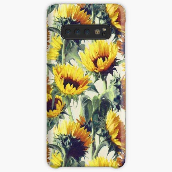 Sonnenblumen für immer Samsung Galaxy Leichte Hülle