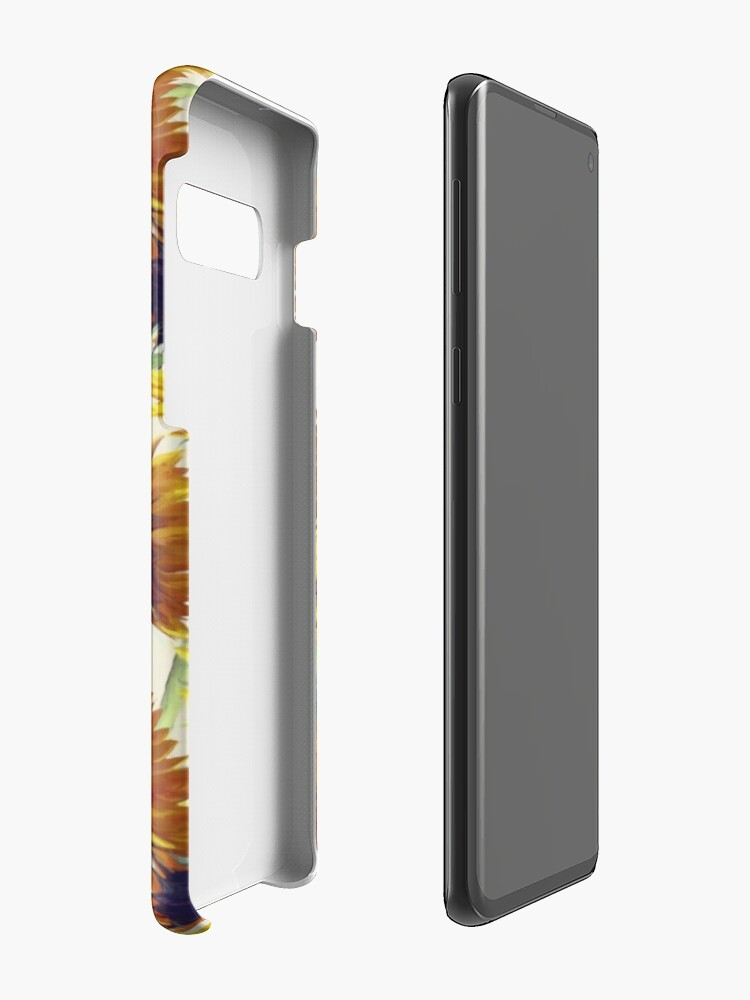 Alternate view of Sunflowers Forever Case & Skin for Samsung Galaxy