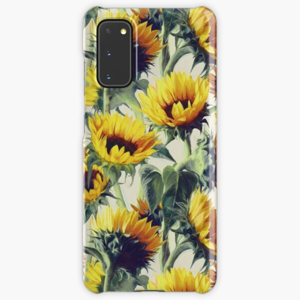 Sunflowers Forever Samsung Galaxy Snap Case