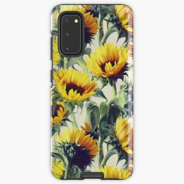 Sunflowers Forever Samsung Galaxy Tough Case