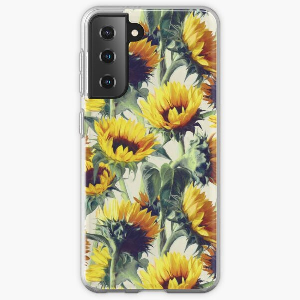 Sunflowers Forever Samsung Galaxy Soft Case
