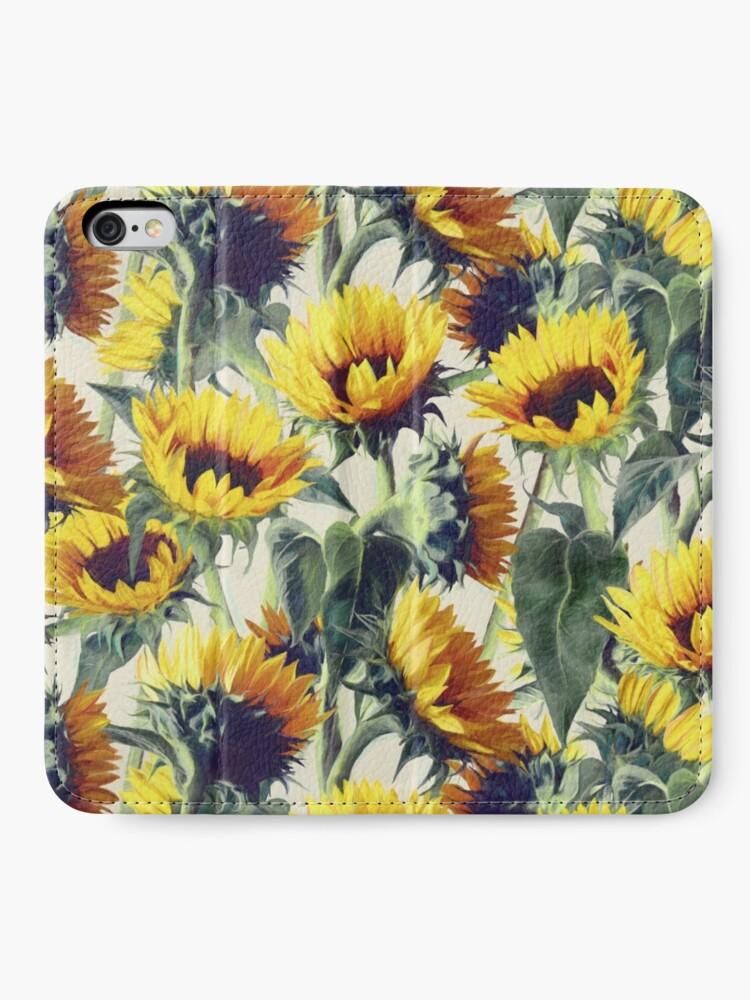 Alternative Ansicht von Sonnenblumen für immer iPhone Flip-Case