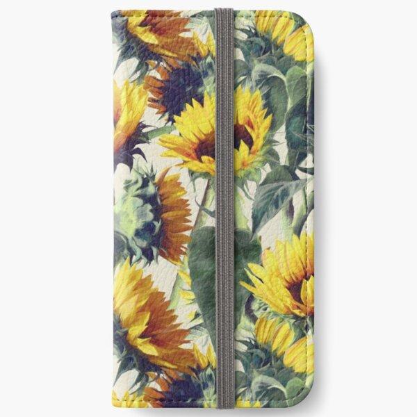 Sonnenblumen für immer iPhone Flip-Case