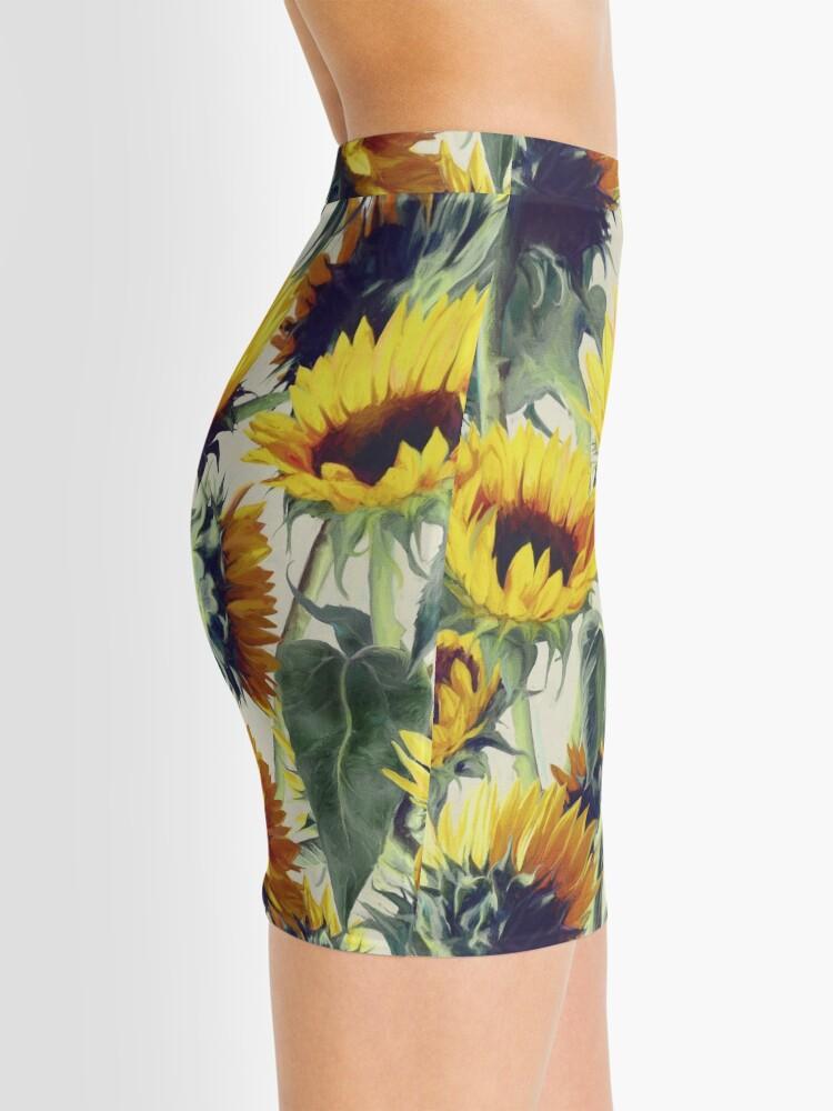 Alternate view of Sunflowers Forever Mini Skirt