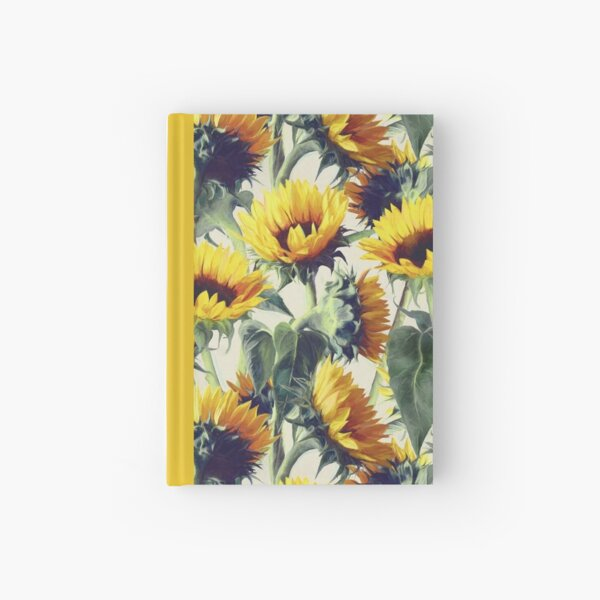 Sunflowers Forever Hardcover Journal