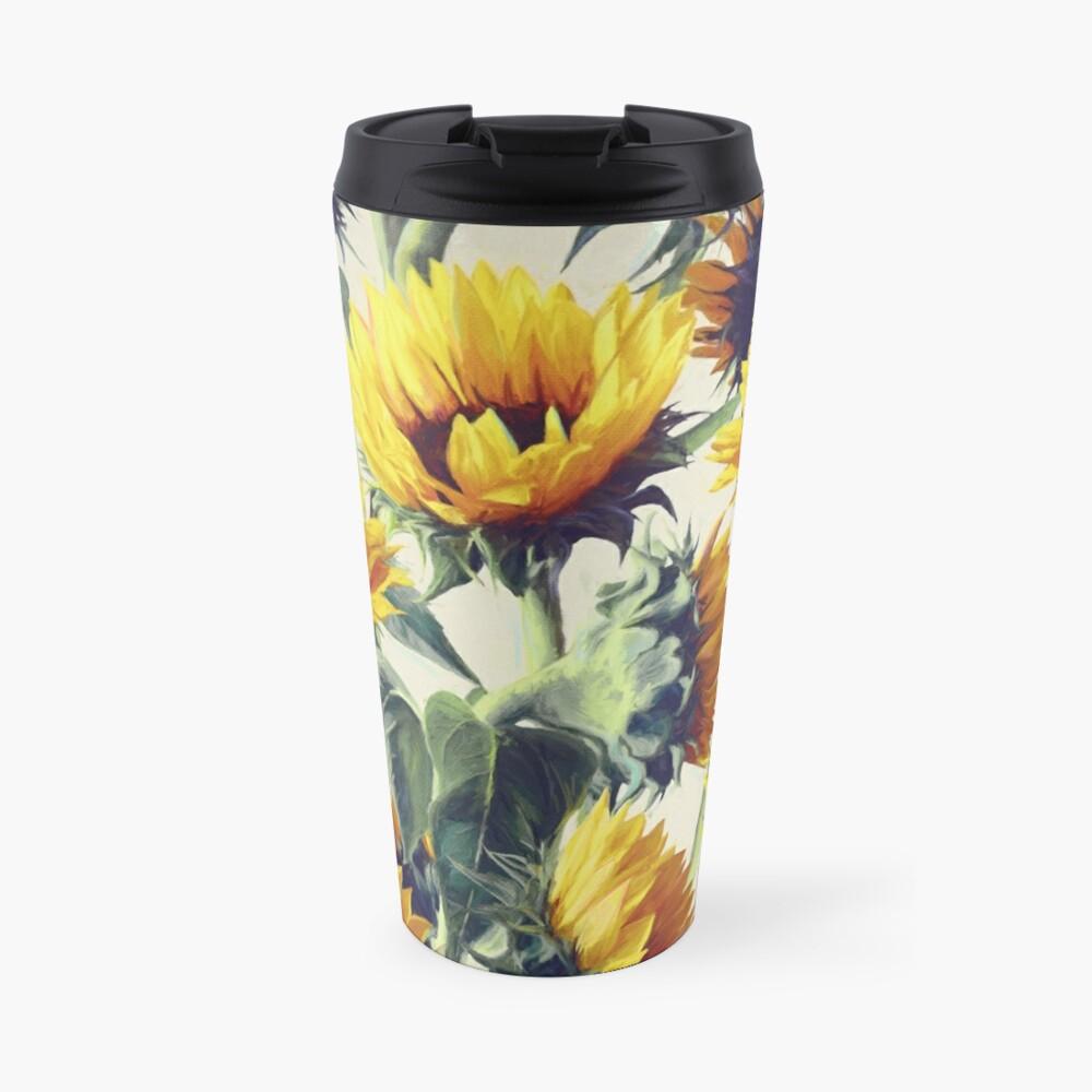 Sunflowers Forever Travel Mug