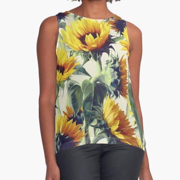 Sunflowers Forever Sleeveless Top