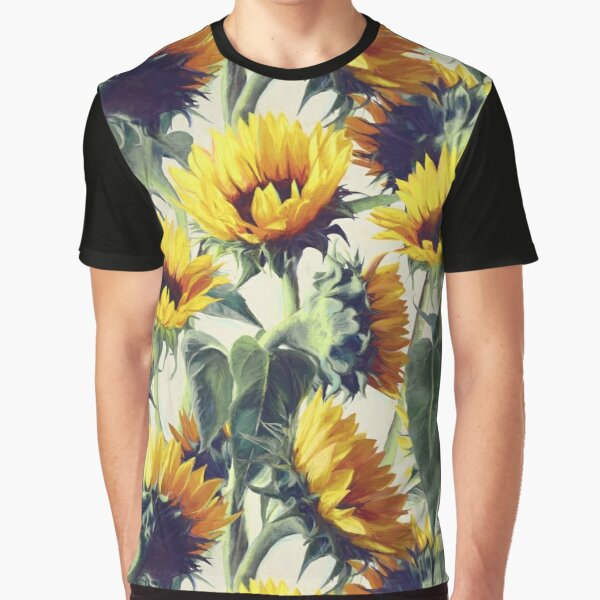Sunflowers Forever Graphic T-Shirt