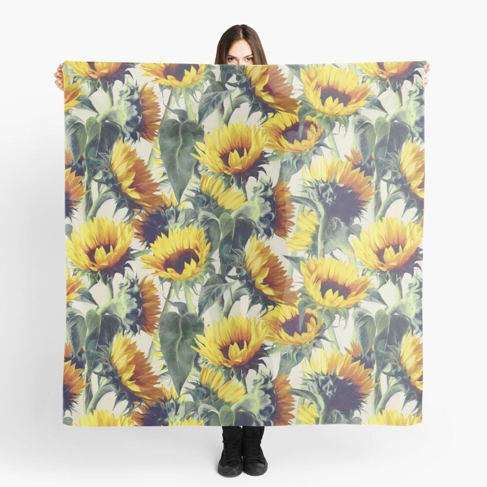Sonnenblumen für immer Tuch