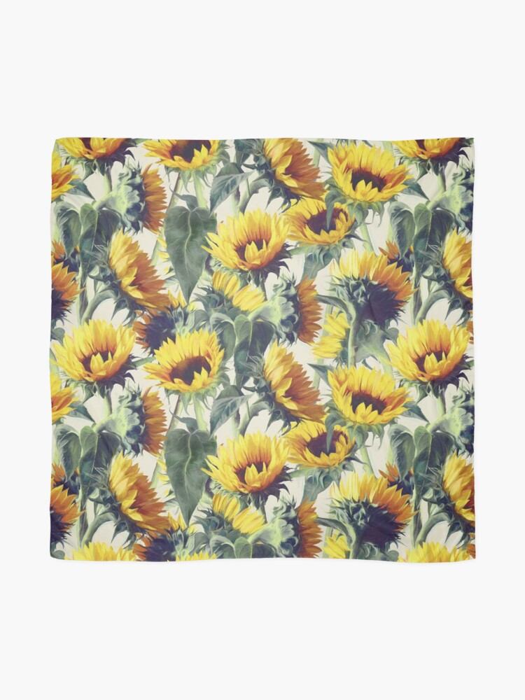 Alternate view of Sunflowers Forever Scarf