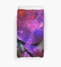 Asteroid Showers over Bow Fiddle Rock Duvet Cover
