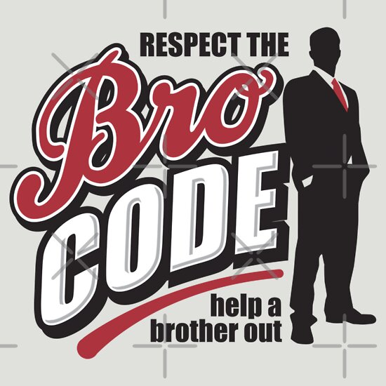 TShirtGifter presents: Bro Code - Help A Brother Out