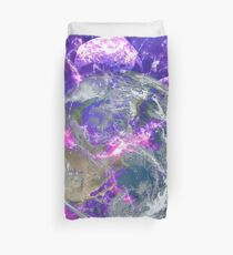 End Of The Earth? Duvet Cover