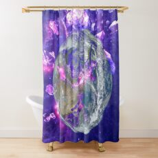 End Of The Earth? Shower Curtain