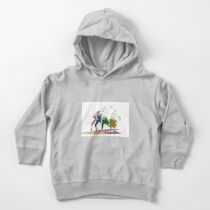Bison in a colour storm Toddler Pullover Hoodie