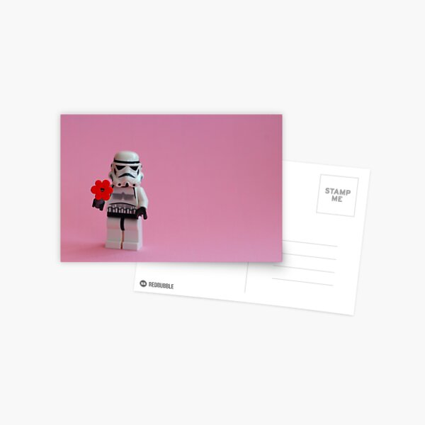 Trooper's Flower Postcard