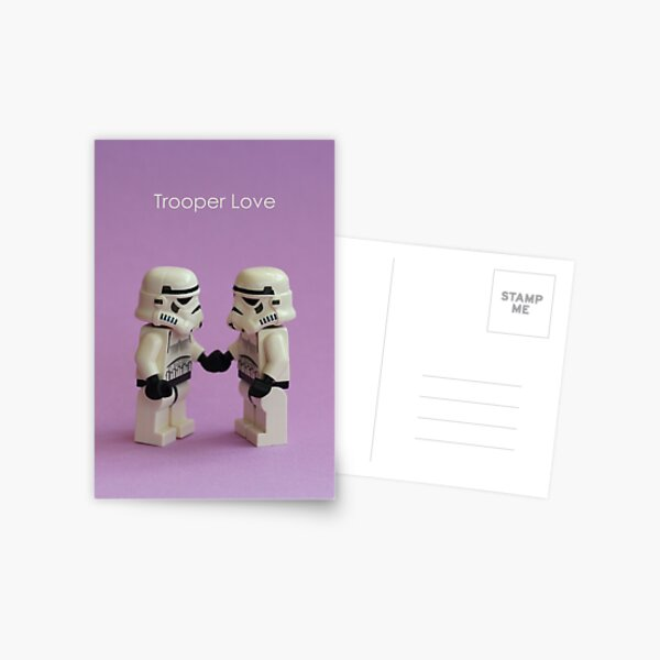 Trooper Love Postcard