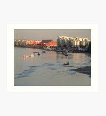 River Thames Art Print