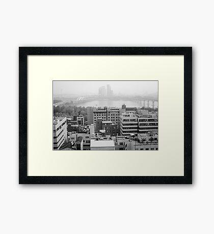 Seoul - South Korea Framed Print
