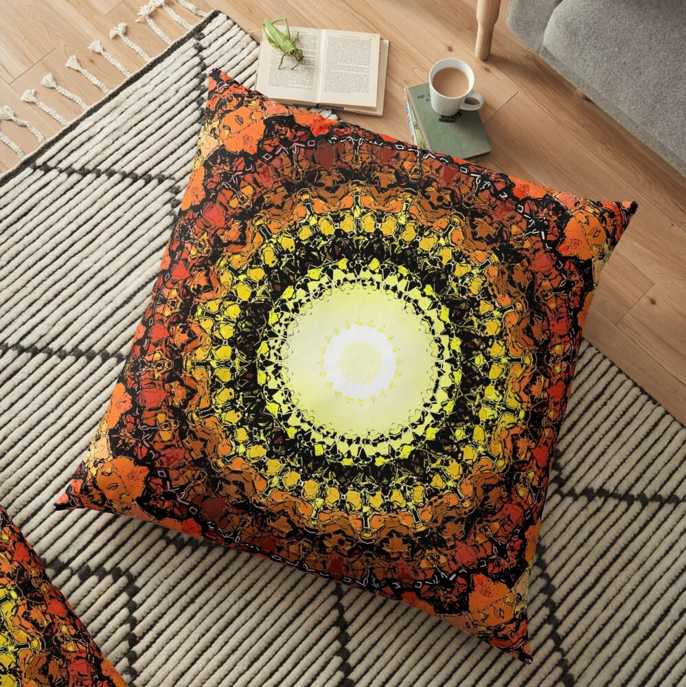 Hot Sun Floor Pillow