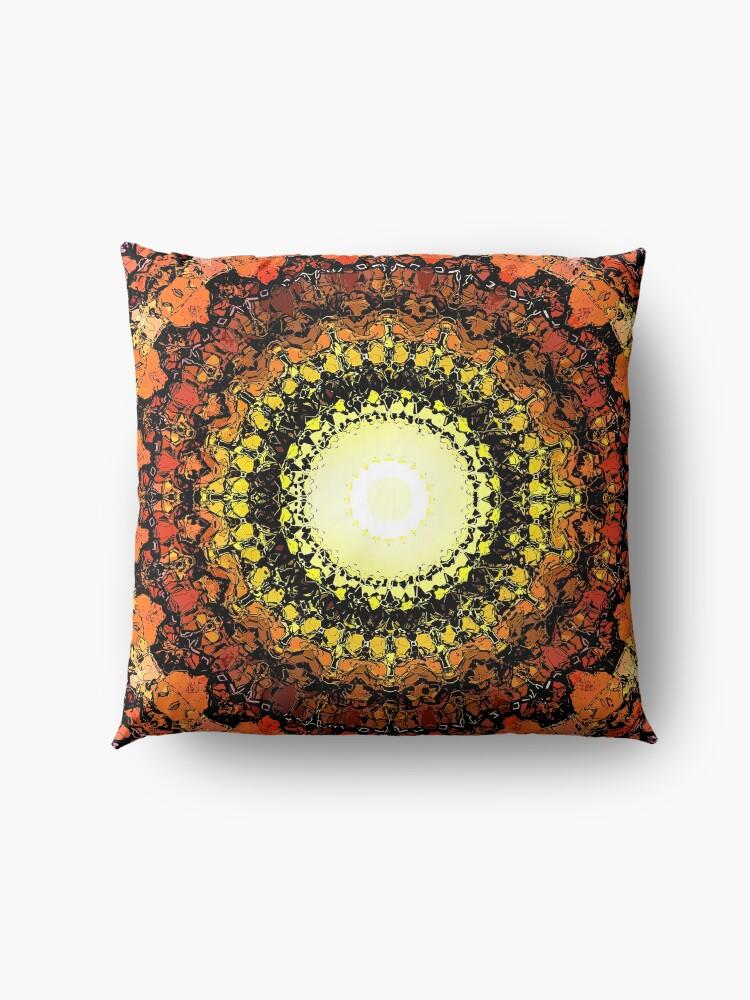 Alternate view of Hot Sun Floor Pillow