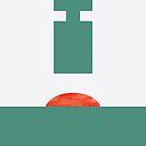 Hammerpresse #illustration #geometrical #art von Creativeaxle
