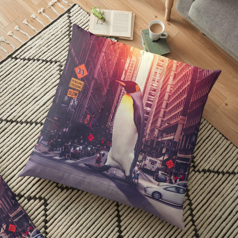 peregrinate Floor Pillow