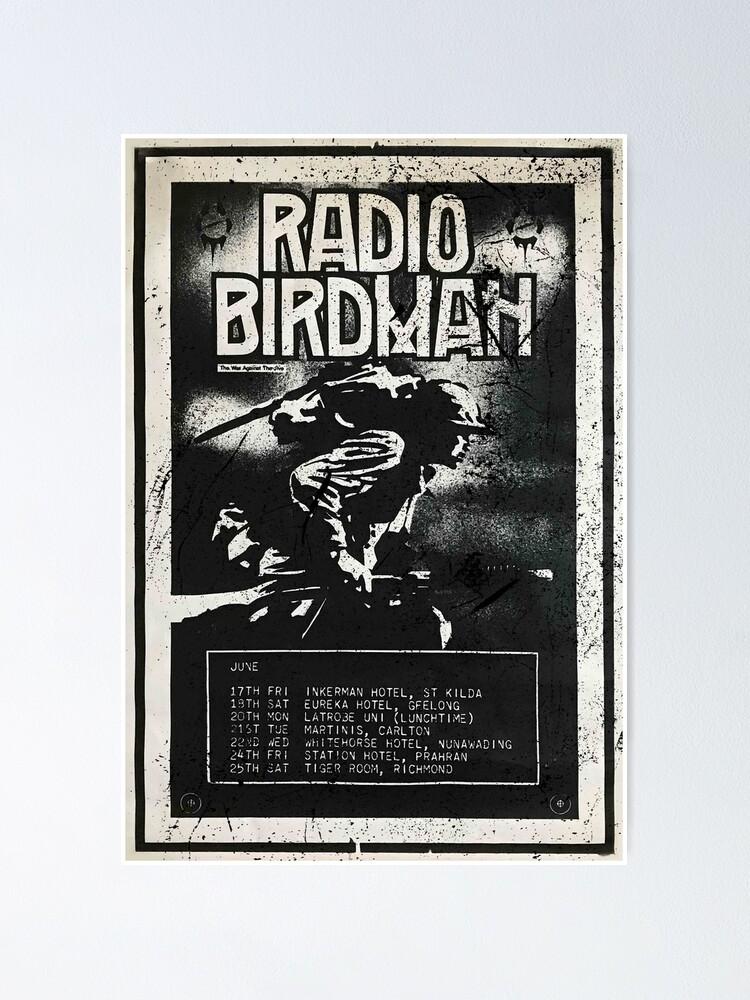 Alternate view of Radio Birdman Live! Poster