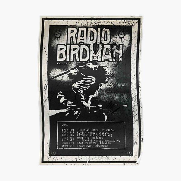 Radio Birdman Live! Poster