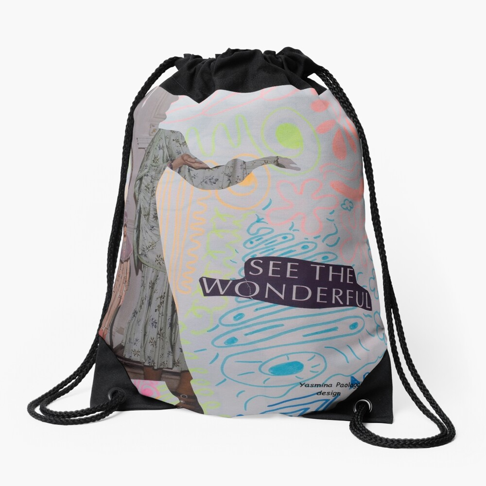 fashionista Drawstring Bag