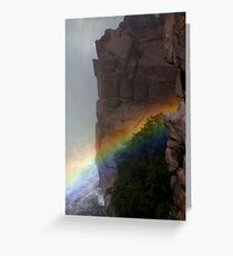Spillover at Pathfinder, Oasis in the High Desert Greeting Card