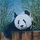 Chillin' Panda by Michael Beckett