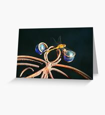 Double Dragonfly Greeting Card
