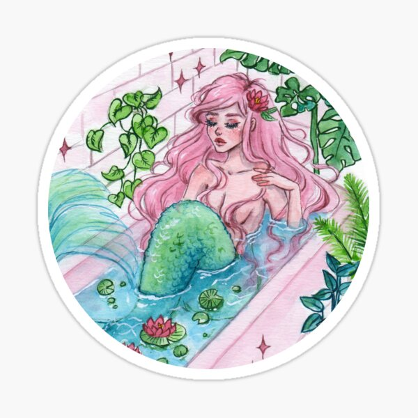 Bathub Sticker