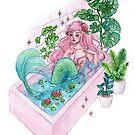 Bathub by ARiAillustr