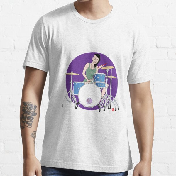 Drummer Girl Essential T-Shirt