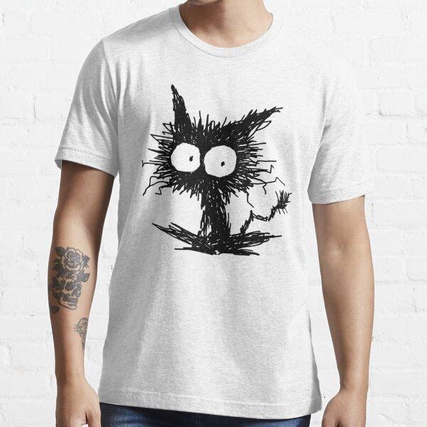 Chaton noir négligé GabiGabi T-shirt essentiel