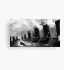 dream in black+white Canvas Print
