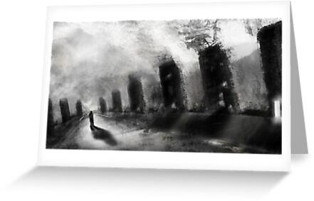 dream in black+white by James Suret