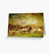 Tumbledown Farm Greeting Card