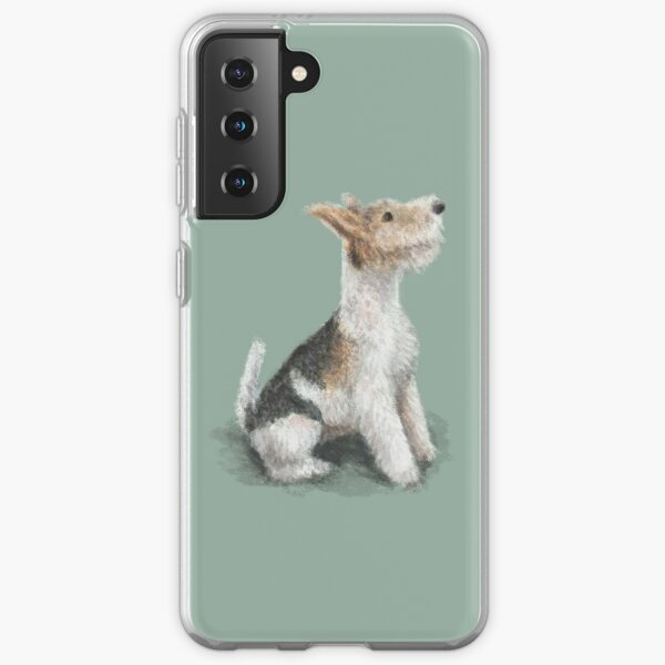 Erik the Fox Terrier Samsung Galaxy Soft Case