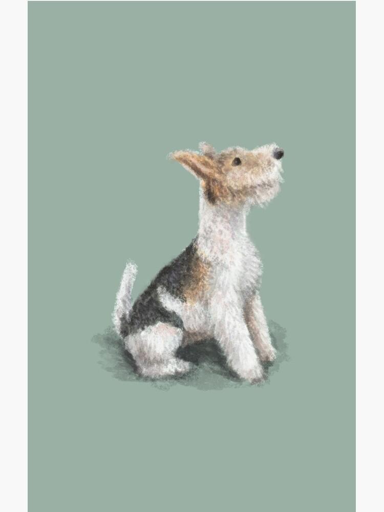 Erik the Fox Terrier by elspethrose