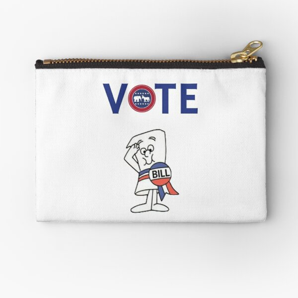 vote Zipper Pouch