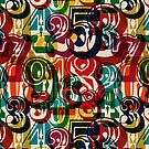 Colour Numbers ONE by BigFatArts
