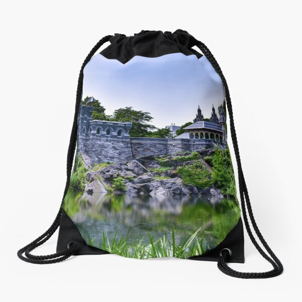 Belvedere Castle Drawstring Bag