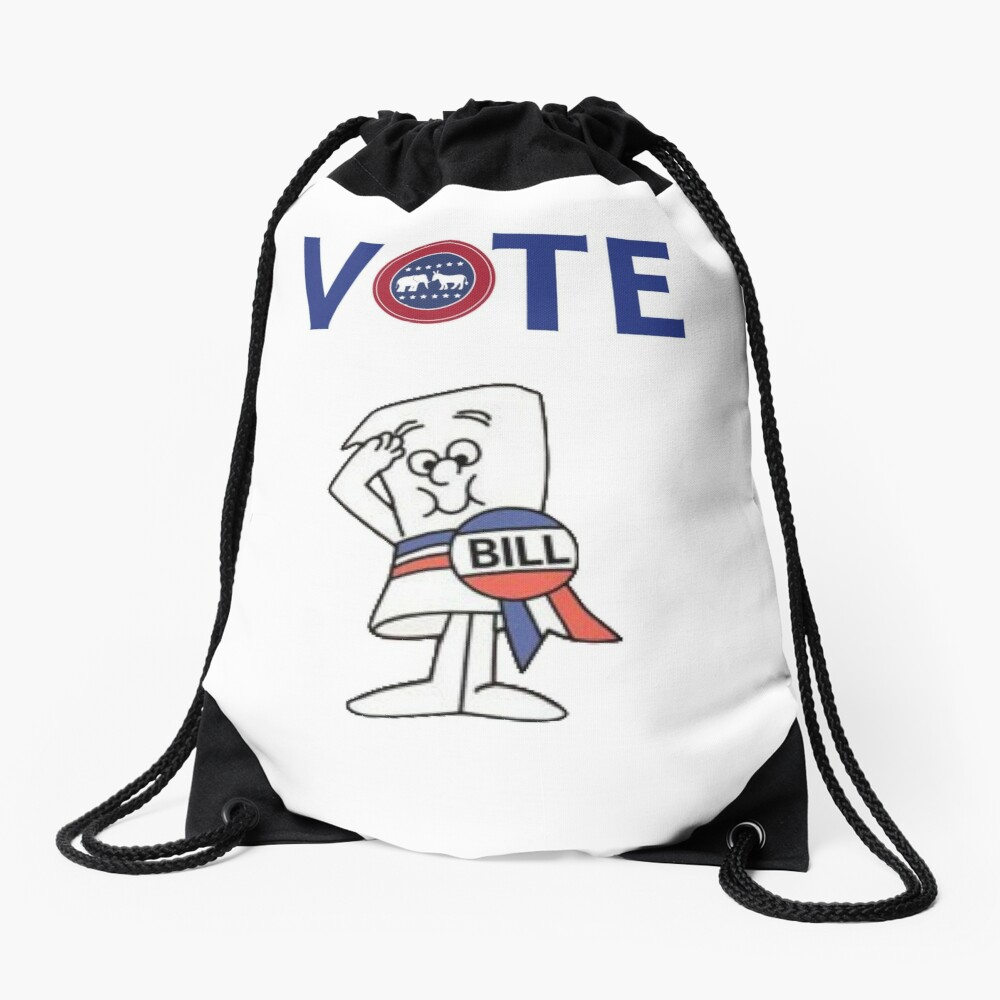 vote Drawstring Bag