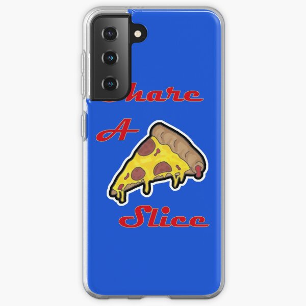 Share a slice - Pizza Samsung Galaxy Soft Case