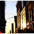 Lensbaby Sunset by Michael J. Cargill