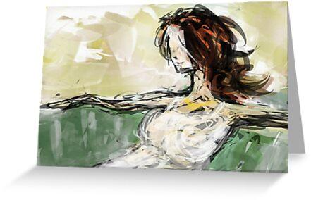 abstract portrait #2 by James Suret