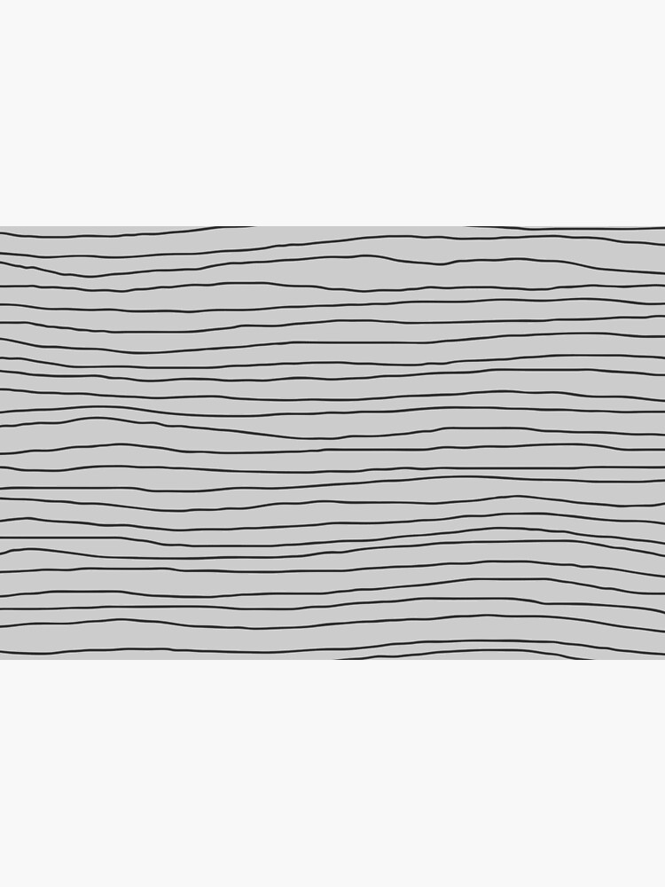 Hand Drawn Lines - Gray by missstriped